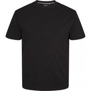 North 56 T-shirt 99010/099 zwart 2XL