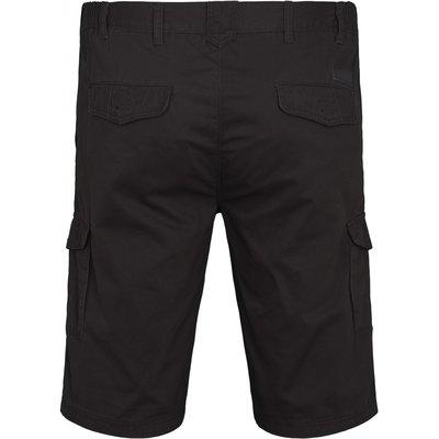 North 56 Cargo short 99810/099 zwart 8XL