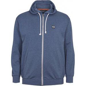 North 56 Sweat cardigan 99832/555 blauw 8XL