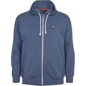North 56 Sweat cardigan 99832/555 blauw 2XL