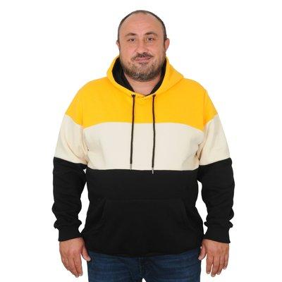 Hoody 21323 geel 3XL