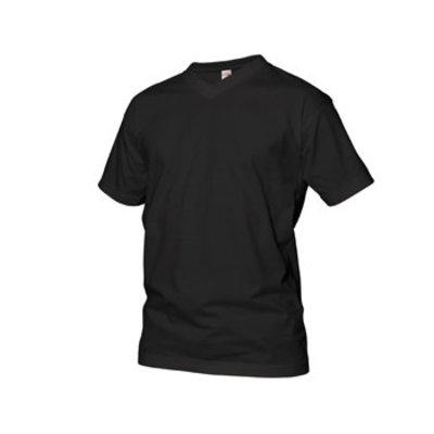 GCM sports T-Shirt V-Neck black 3XL