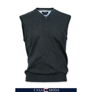 Casa Moda Casa Moda V-neck pullunder 4160/74 4XL