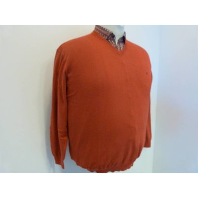 Casa Moda V-neck sweater 004130/41 3XL