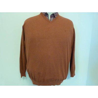 Casa Moda V-neck sweater 004130/490 2XL