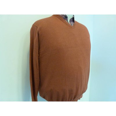 Casa Moda V-neck sweater 004130/490 4XL