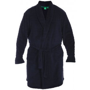 Duke/D555 Bathrobe KS19002 Navy 7XL