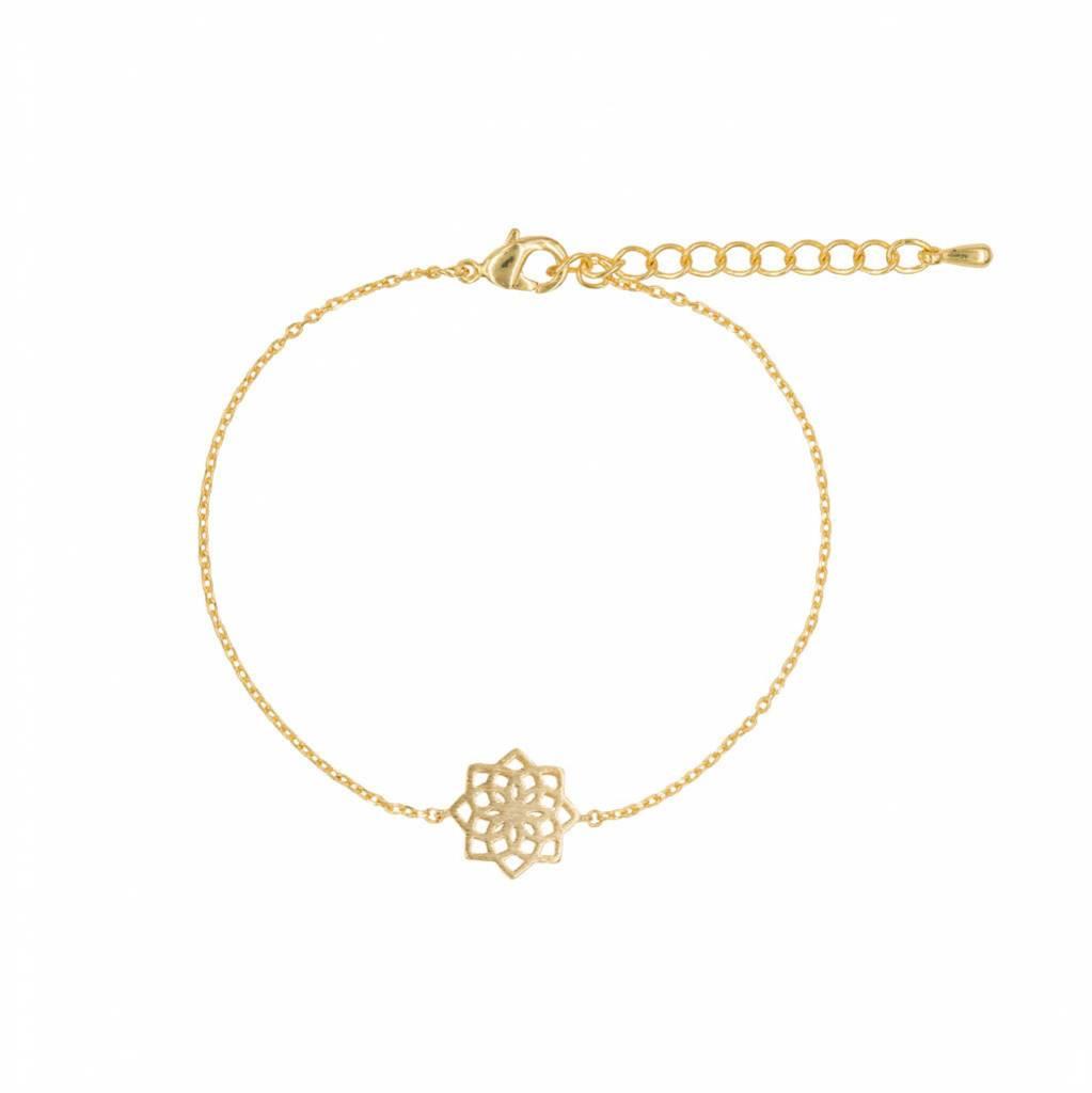 Armband - Mandala gold