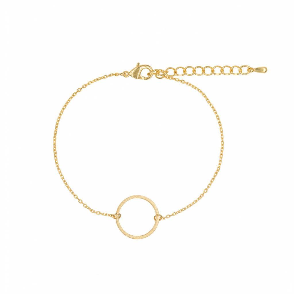 Armband -Circle gold