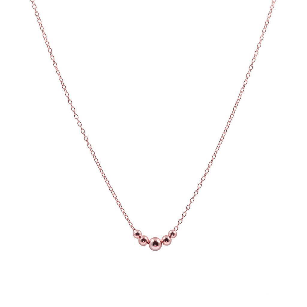 Halskette mit fünf Kügelchen