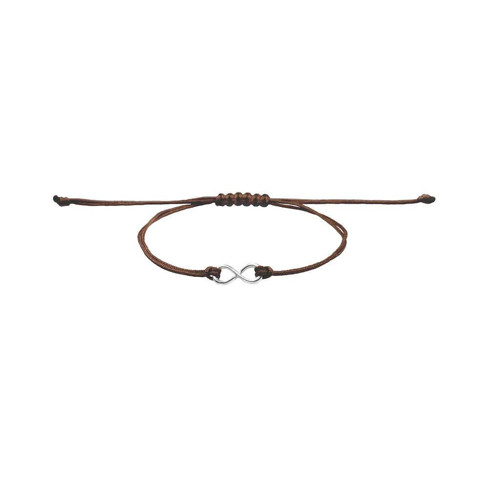 Armband - Infinity silber