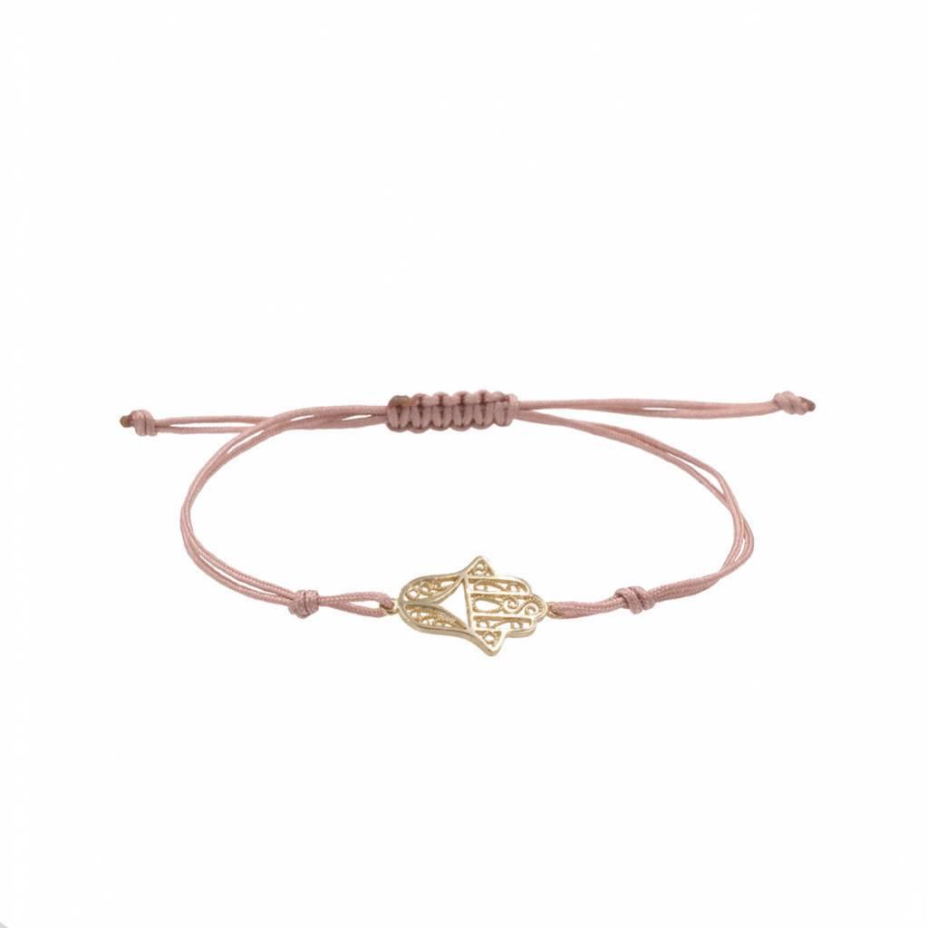Armband - Hand der Fatima in gold