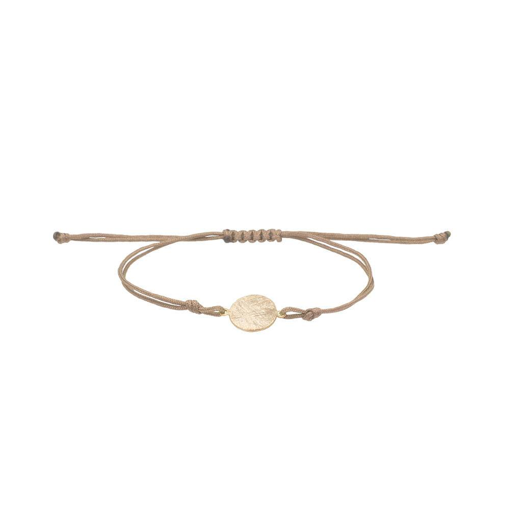 Armband - Plättchen gold
