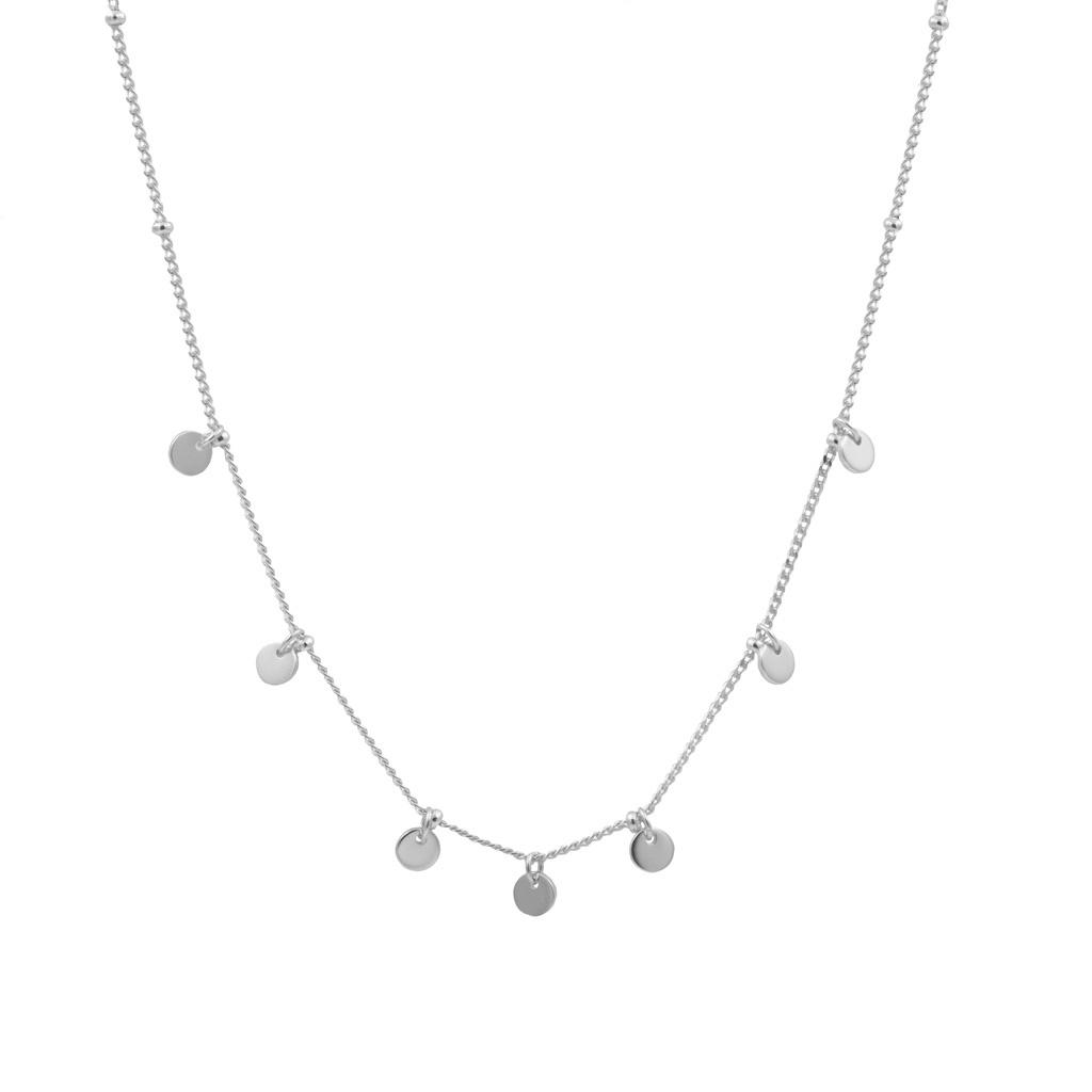Aus Mehreren Sterling Halskette Mit Silber 925 Plättchen cq435RjLSA