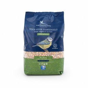 Vogelbescherming Nederland Premium No Mess schilvrij strooivoer 4 liter - 2.5kg