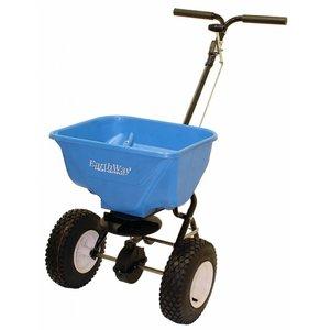 Earthway 2130 Zout- Meststofstrooier duwmodel 30 liter - Blauw