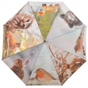 Esschert Design Paraplu winterprint
