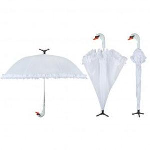Esschert Design Paraplu zwaan