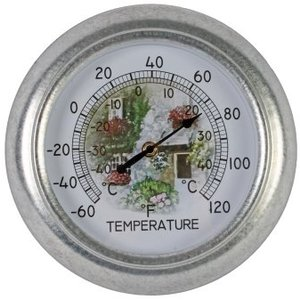 Talen Tools Thermometer ananloog 25 cm rond
