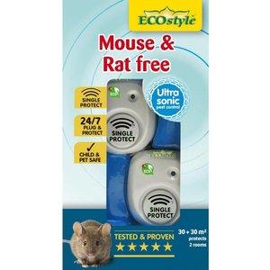 ECOstyle Mouse & Rat Free - 30m2 + 30m2