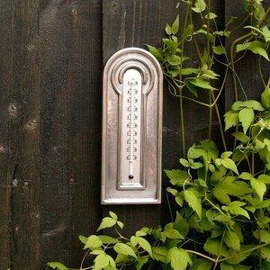 Wildlife Garden Thermometer Aluminum Modern - WG556