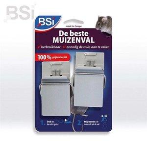 BSI De beste muizenval - 2 stuks
