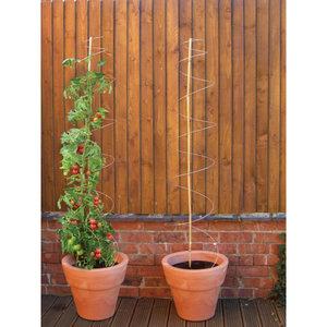 Plantensteun Spiraal tot 2meter hoogte 3st.