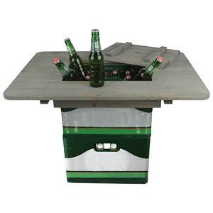 Esschert Design Bierkrat tafel