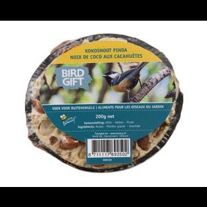 Buzzy Birds Halve Kokosnoot Pinda 200gram - 6 STUKS