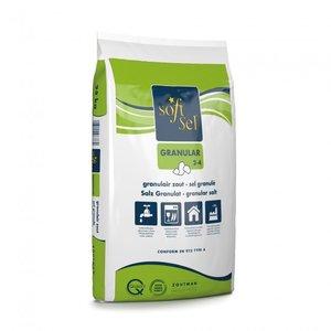 SOFT-SEL® GRANULAR, granulair zout - 25kg