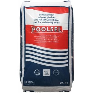 Poolsel Zwembadzout A-Kwaliteit - 25kg