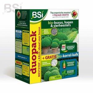 BSI Meststof Bio-Buxus - 7kg + 3kg kalk gratis doos