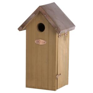 Esschert Design Nestkast koolmees koperen dak - NK04