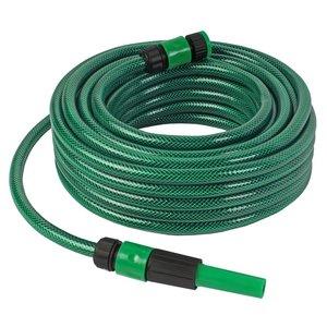 Talen Tools Groene slang m. koppelingen en regelb.spuit 1/2 15meter