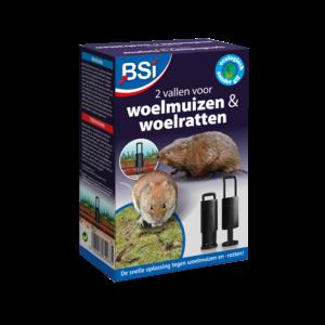 BSI Woelmuis & Woelrattenval 2 st.