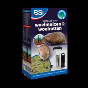 BSI Vangset voor Woelmuizen & Woelratten