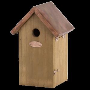 Esschert Design Nestkast Pimpelmees met koperen dak