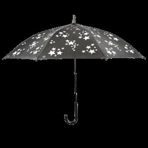 Esschert Design Reflecterende kinderparaplu met sterren - KG184
