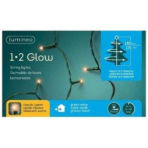 Lumineo Kerstboomverlichting 171-Lamps - 180 cm
