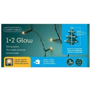 Lumineo Kerstboomverlichting 126-Lamps - 150 cm