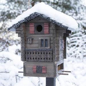Wildlife Garden Multiholk Fjällstugan nestkastje/voederhuisje - WG215