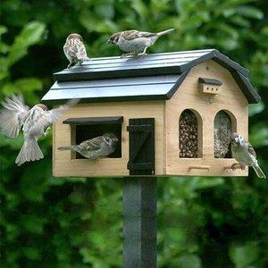 Wildlife Garden Foderlada Rustiek  Voederschuur voor vogels - WG222