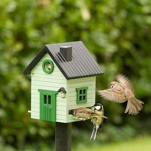 Wildlife Garden Multiholk Pale Green Vogelhuisje - WG121