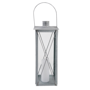 Esschert Design Oud zink lantaarn L - OZ08