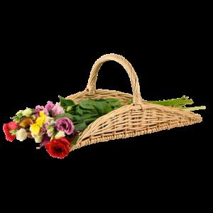 Esschert Design Bloemen- en kruidenmand - FH001