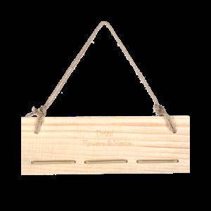 Esschert Design Bloemen- en kruidendroogrek met elastiek - FH003