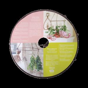 Esschert Design Bloemen en kruiden droger metaal - C3000