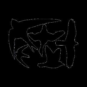 Esschert Design Raamstickers vogel - FB9