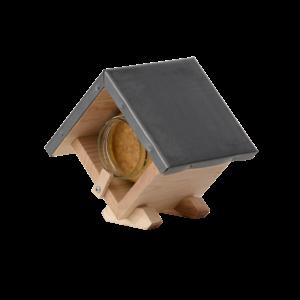 Esschert Design Vierkant pindakaashuisje - FB460