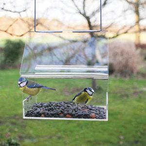 Esschert Design Acryl hangende voedertafel huis - FB373